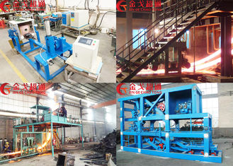 Easy Operating CCM Continuous Casting Machine With High Production Efficiency